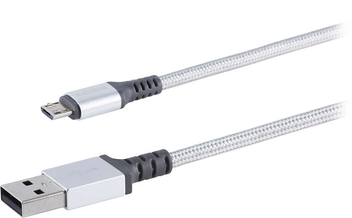 Premium braided cable with aluminum connectors