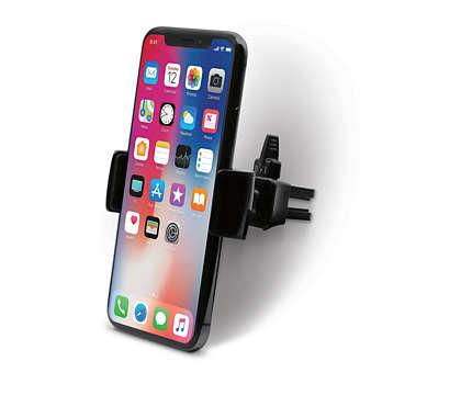 Bilmontering av luftventil for mobiltelefoner