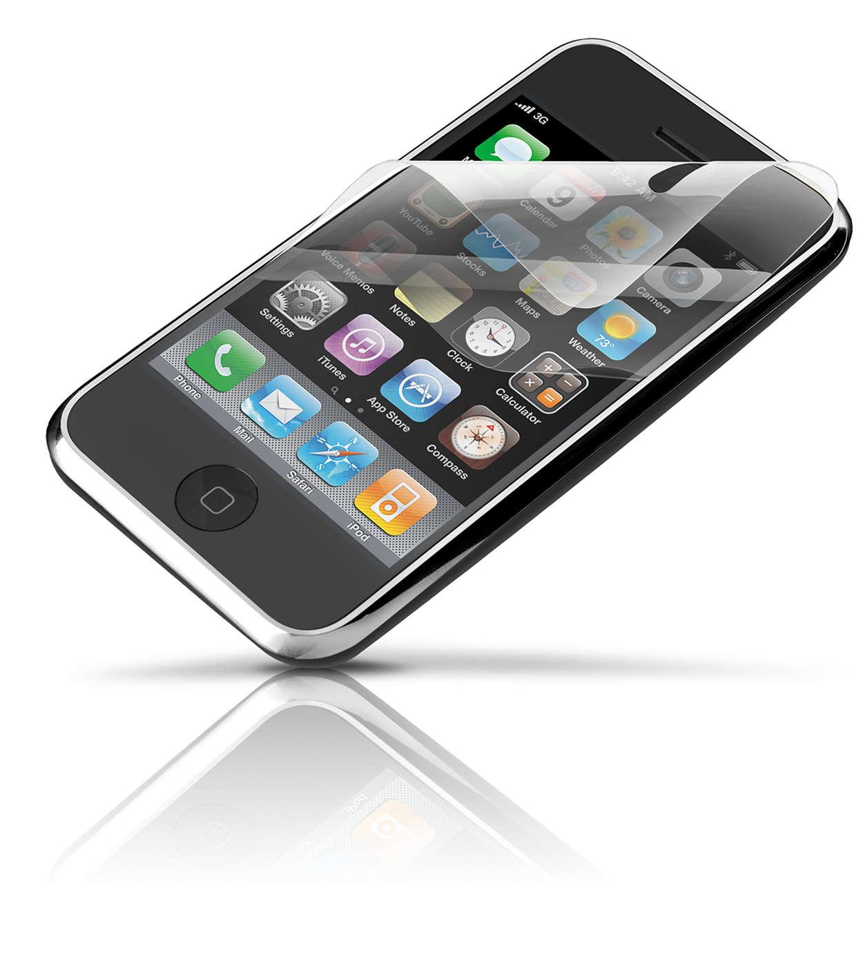 Chraňte obrazovku zařízení iPhone
