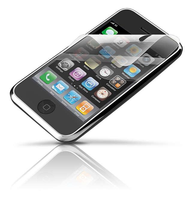Beskyt skærmen på din iPhone