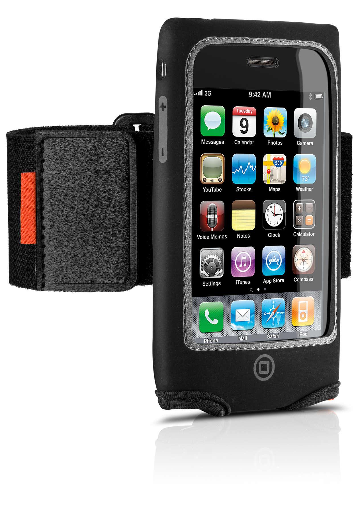 Treenaa iPhonen kanssa