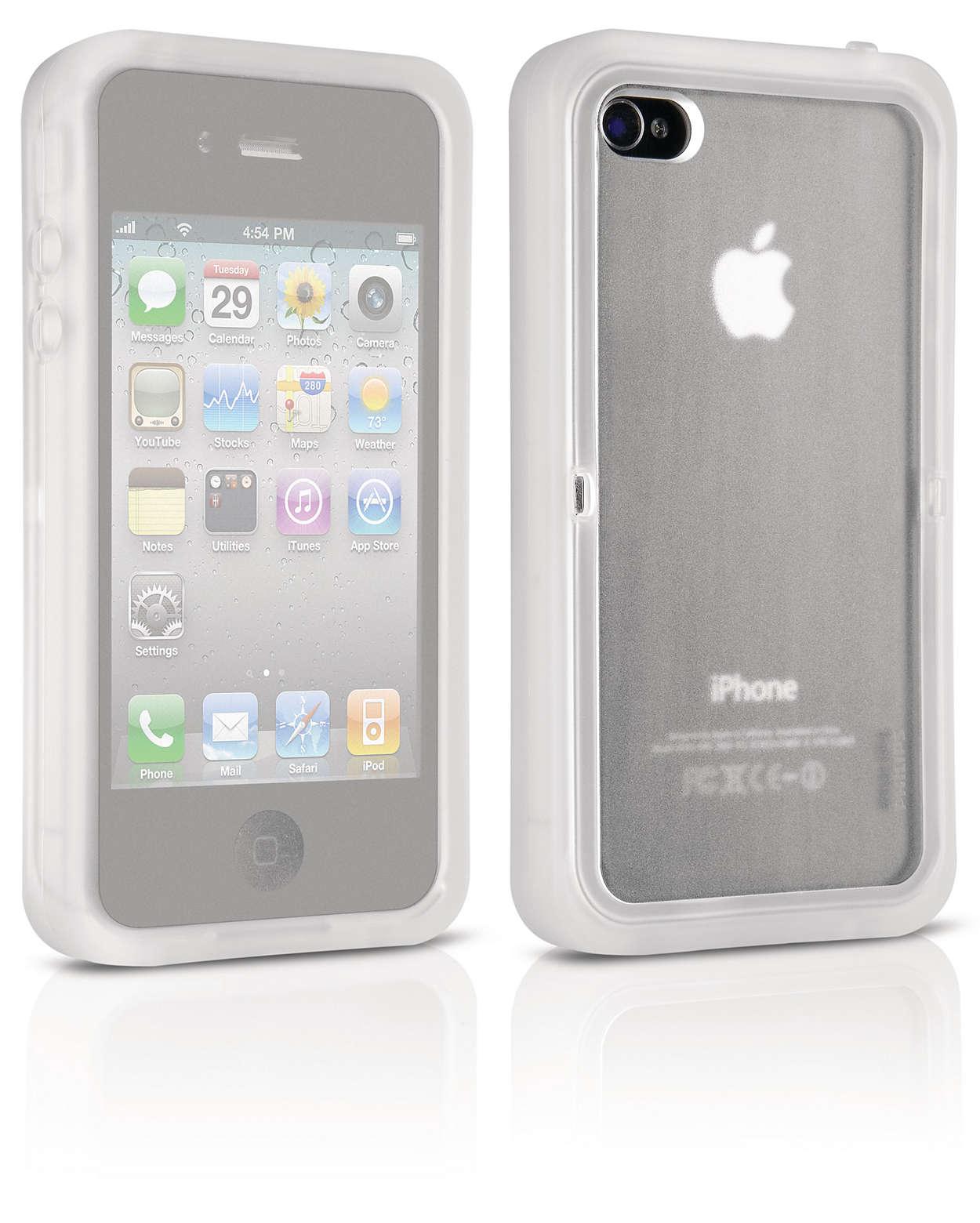 Uw iPhone beschermd tegen alle omstandigheden