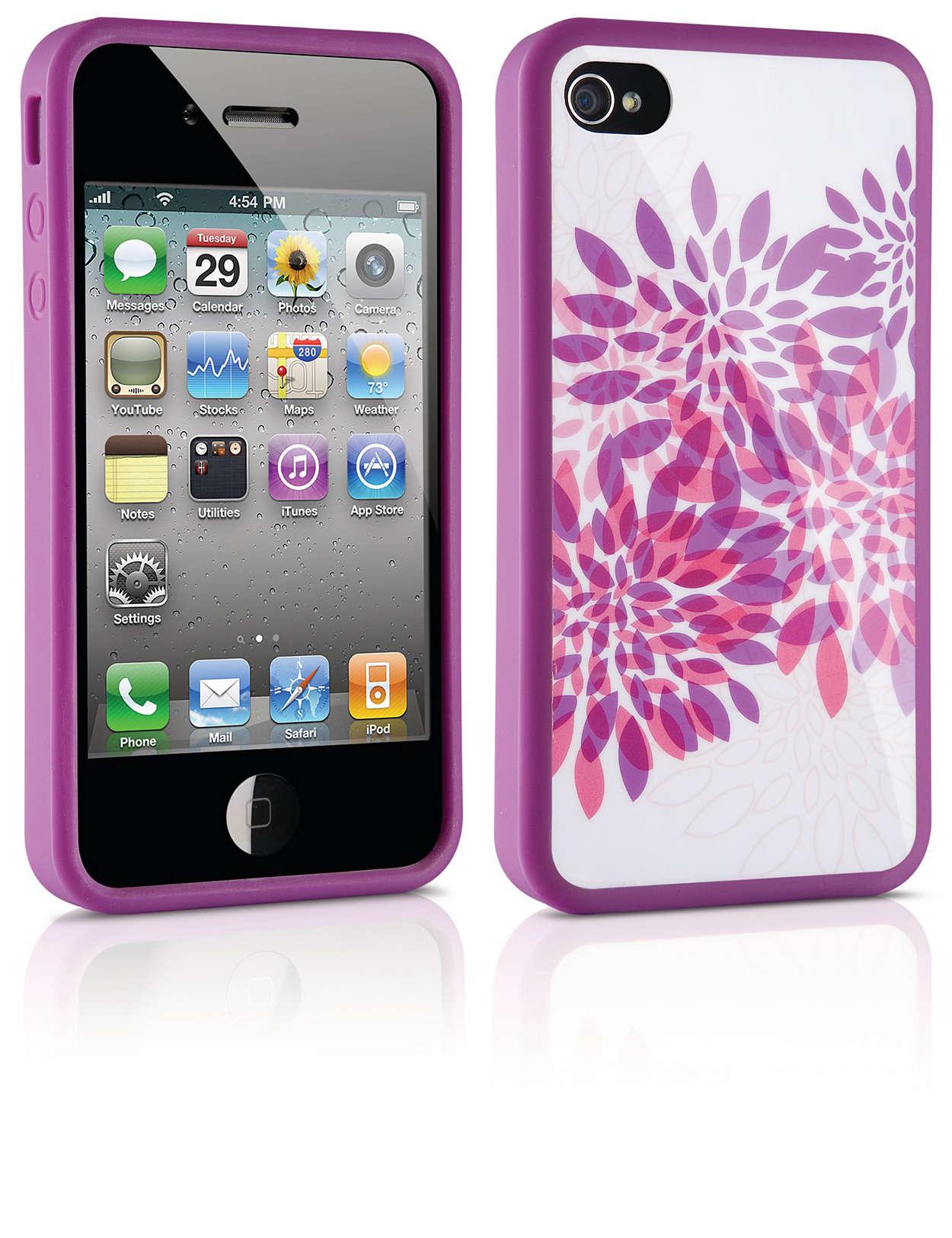 Защитете своя iPhone в твърд калъф