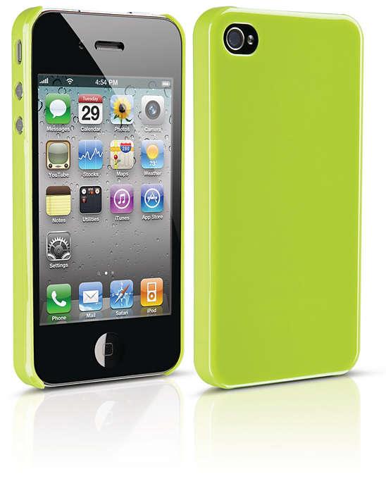Beskyt din iPhone i et hårdt etui