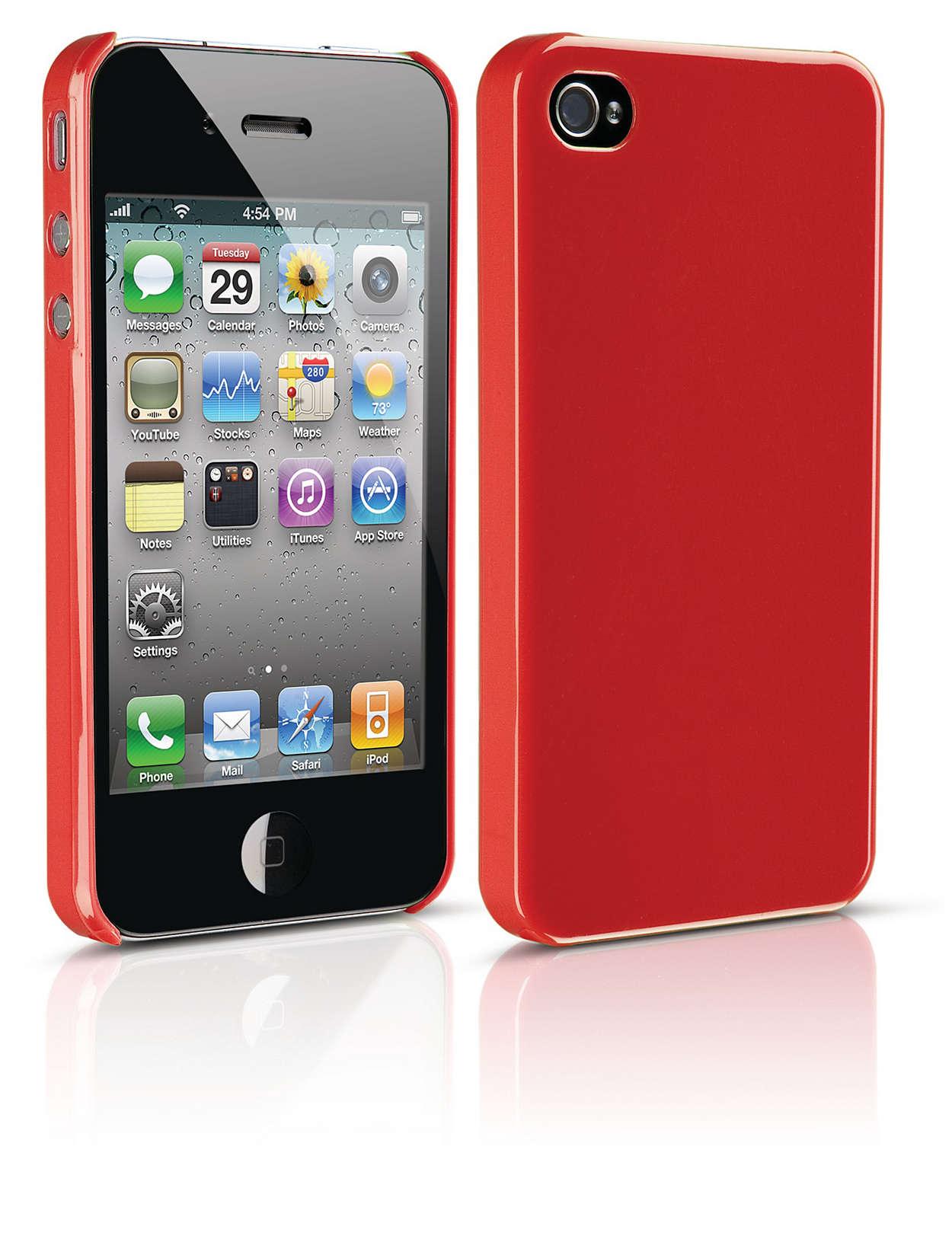 Protégez votre iPhone dans un étui rigide
