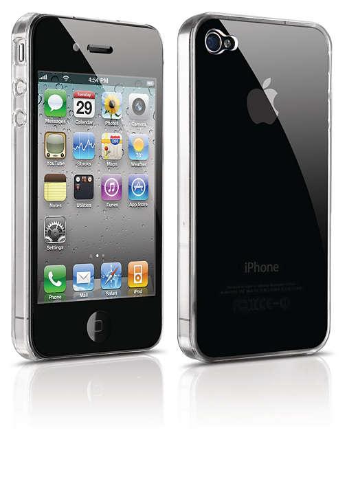 Proteggi il tuo iPhone in una custodia rigida