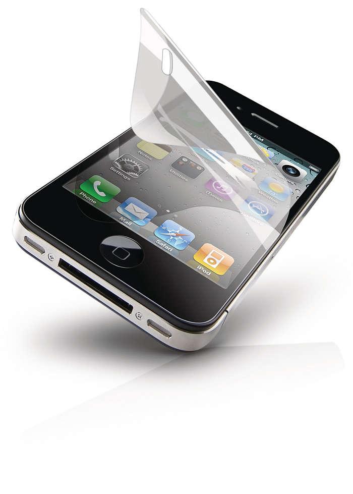 Ochrona ekranu telefonu iPhone