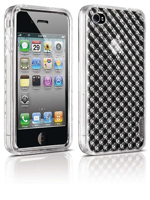 Proteggi il tuo iPhone in una custodia flessibile