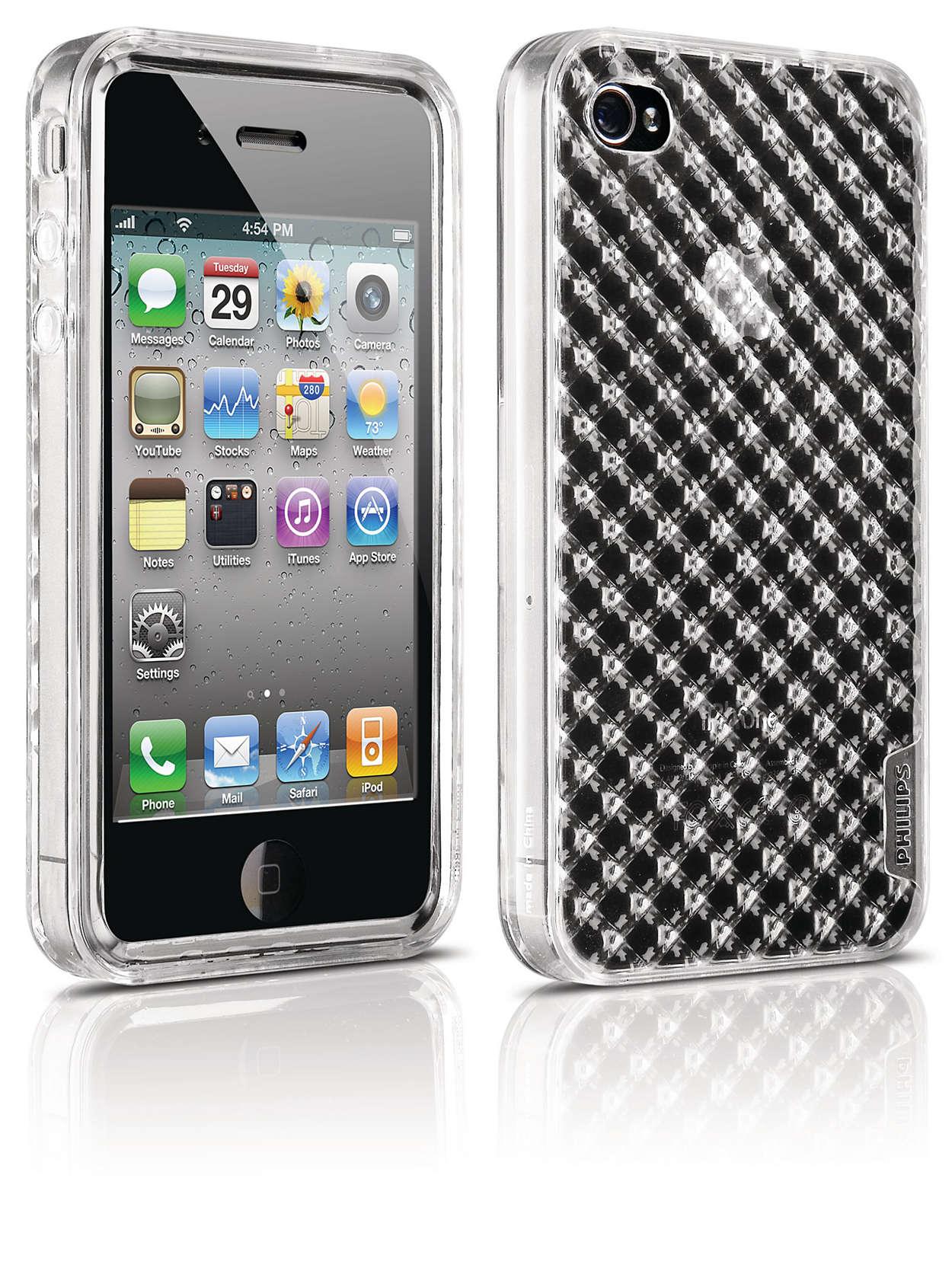 Chroń swój telefon iPhone w elastycznym futerale,