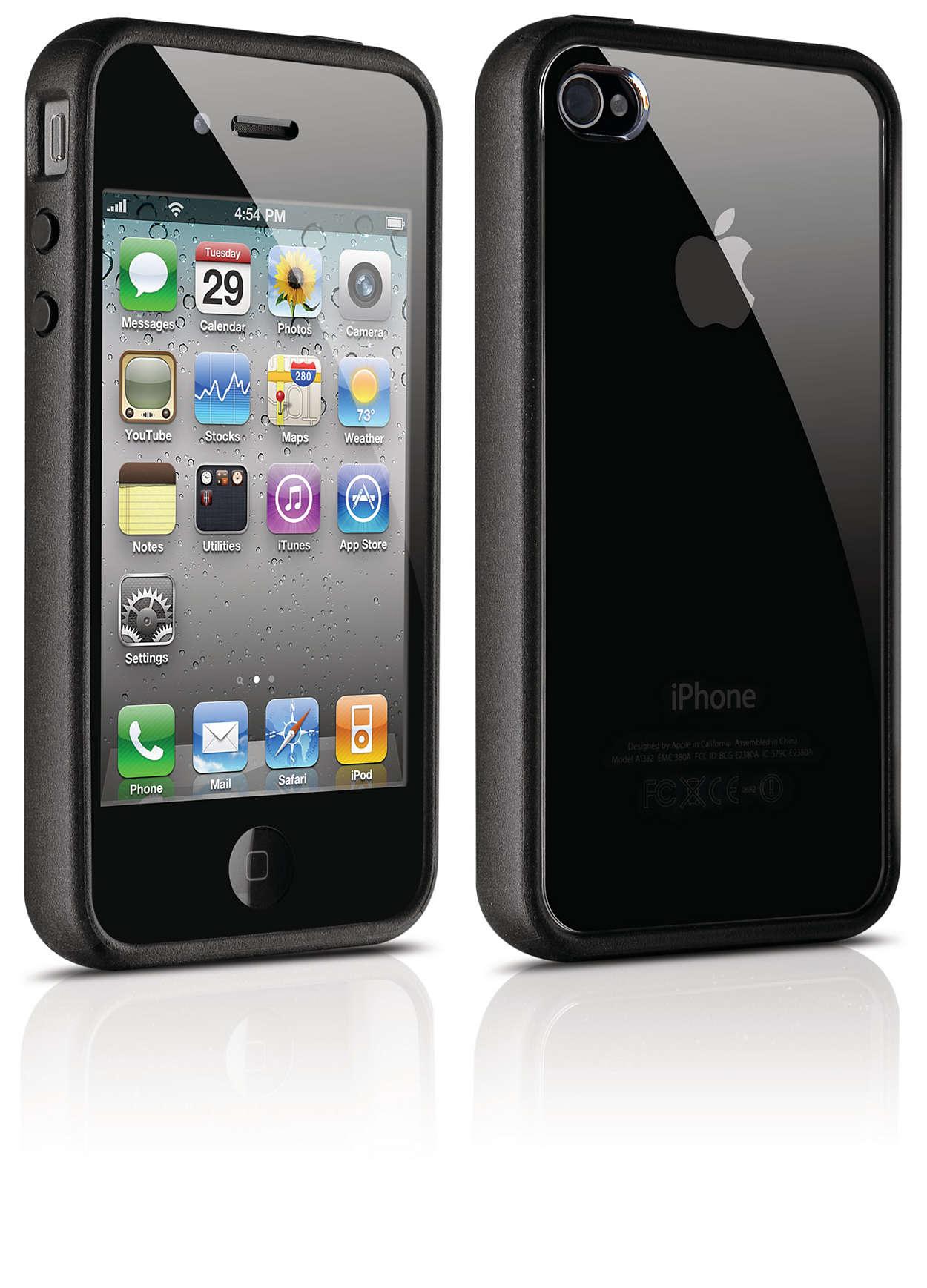 Suojaa iPhone kovassa kotelossa
