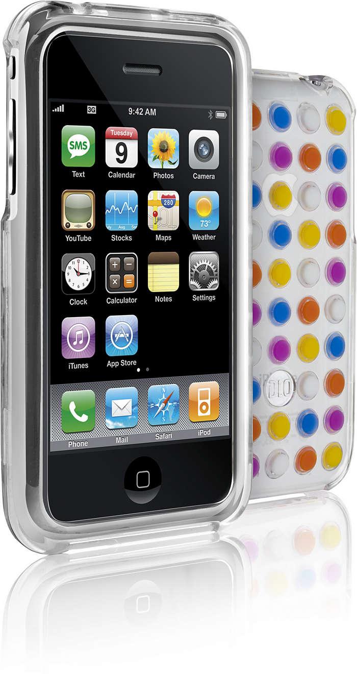 Skydda din iPhone i ett genomskinligt skal