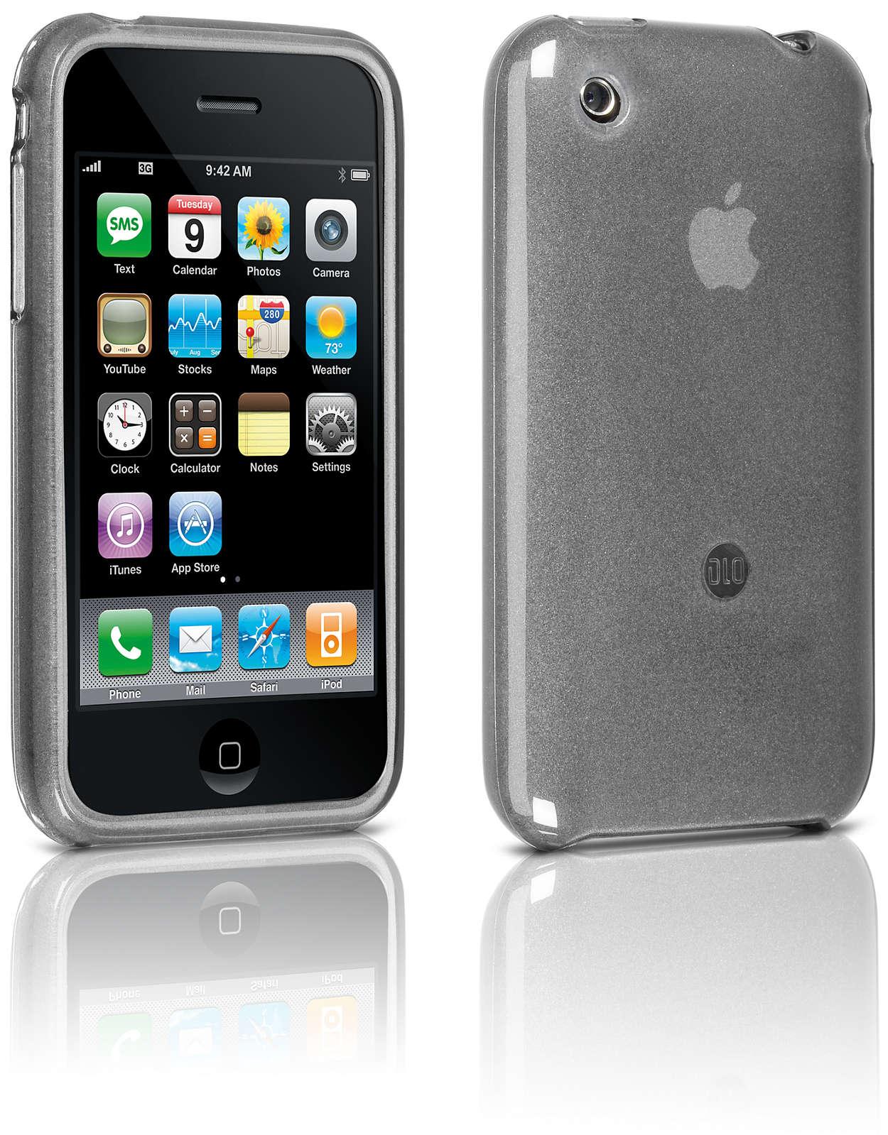 Beskyt din iPhone i et fleksibelt etui,