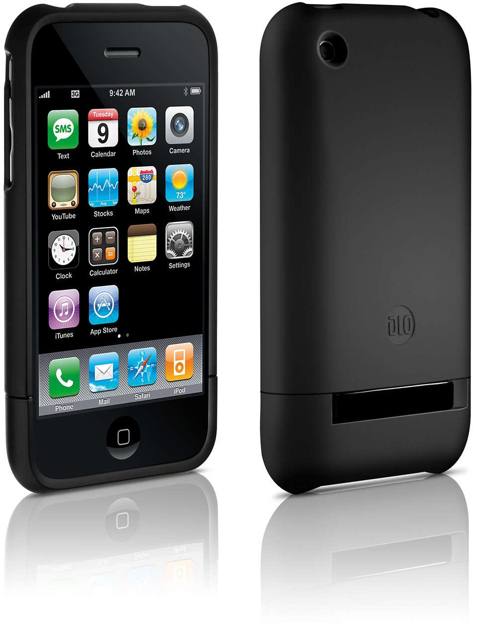 Skydda din iPhone i ett hårt skalfodral