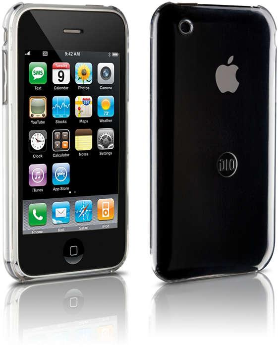 使用硬殼護套保護您的 iPhone