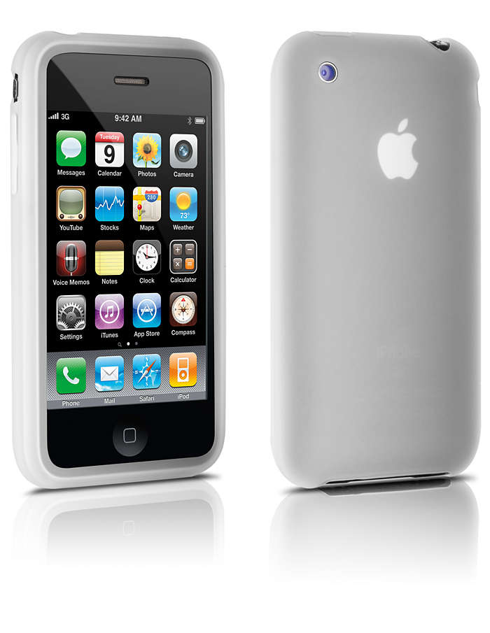 Protege tu iPhone con una funda de silicona