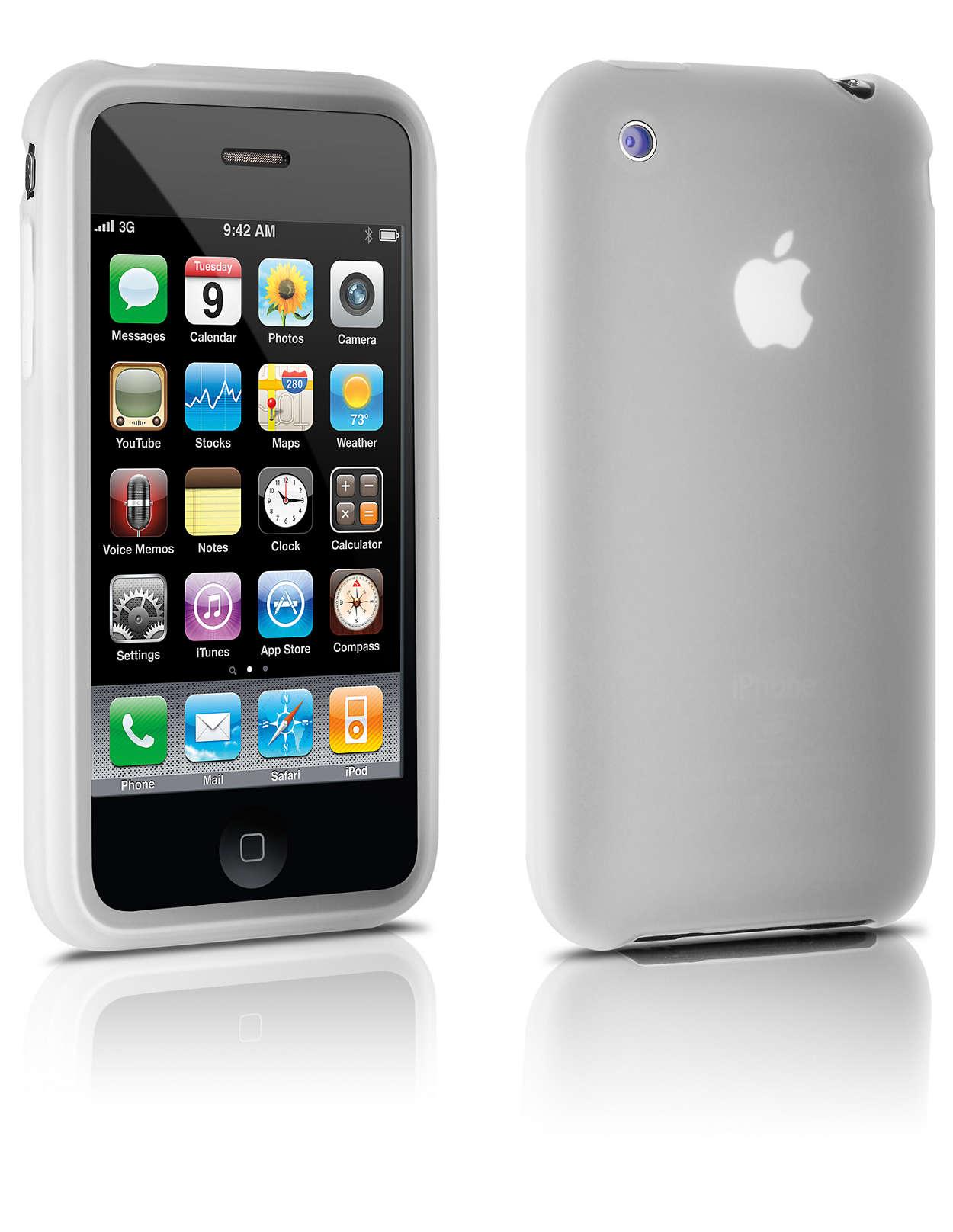 Skydda din iPhone i silikonfodral