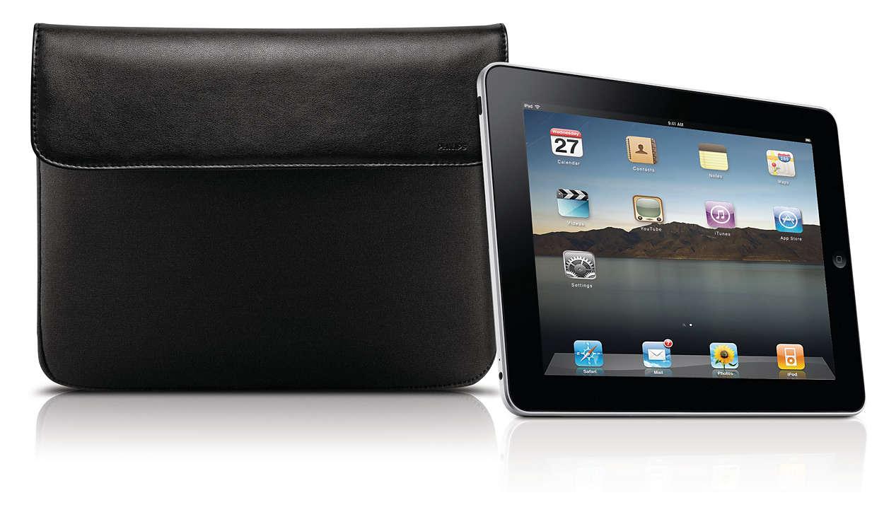 Stijlvolle bescherming voor uw iPad
