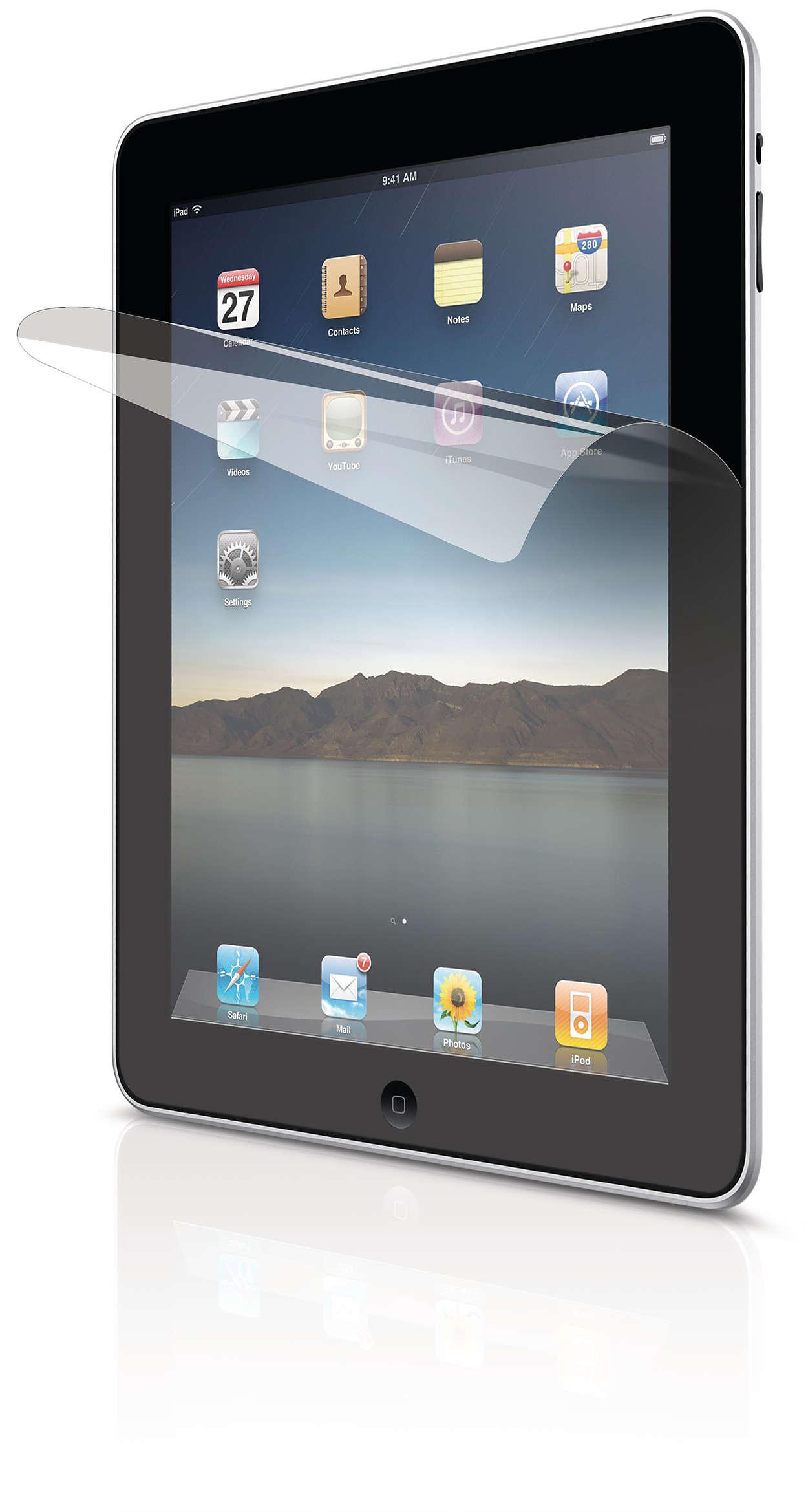 Protege la pantalla de tu iPad