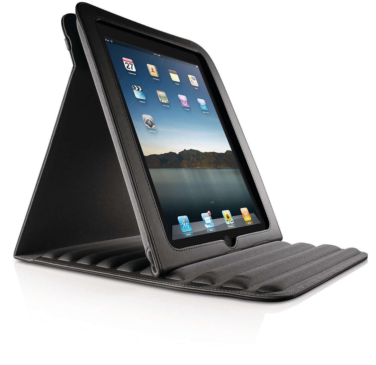 Smart case with padded construction