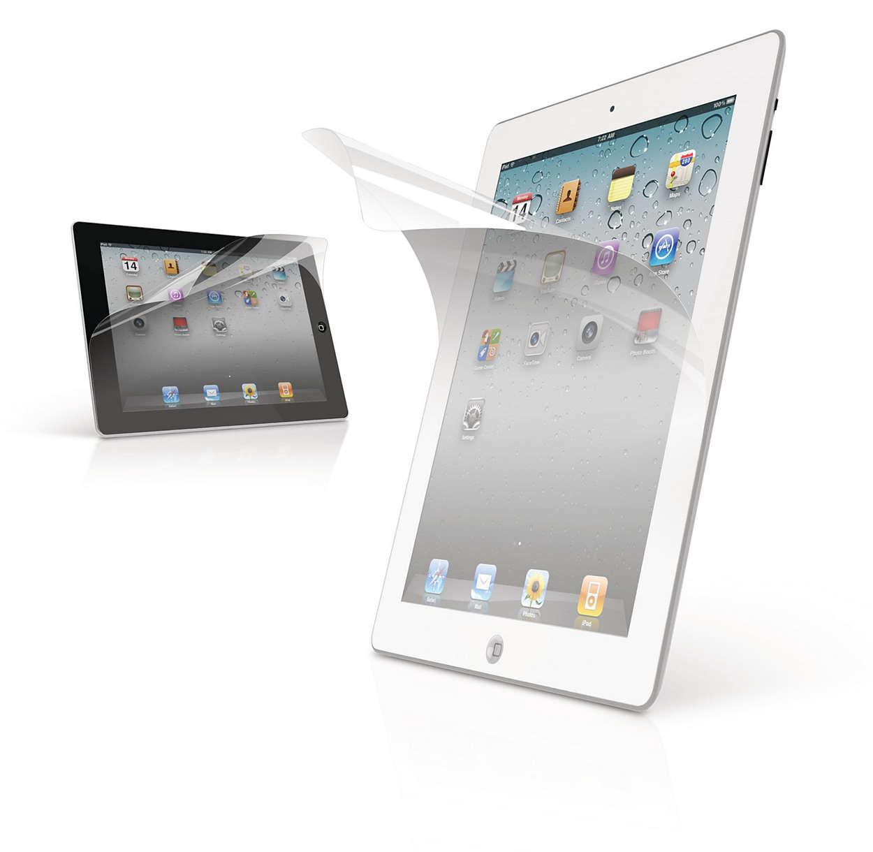 Proteja o visor do seu iPad