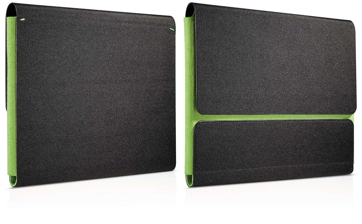 Easy-carry iPad case