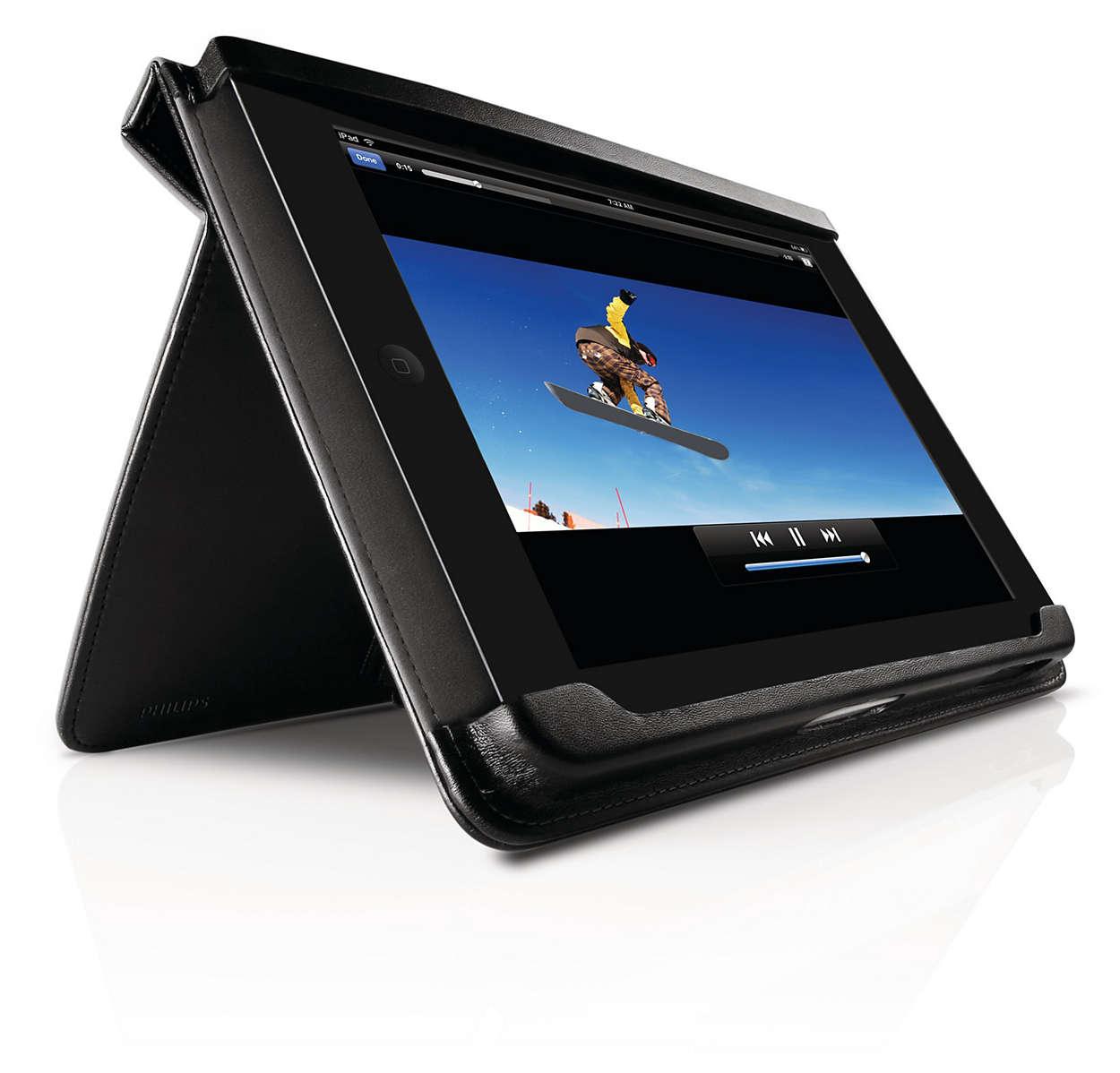 Ταξιδέψτε με στιλ συντροφιά με το iPad