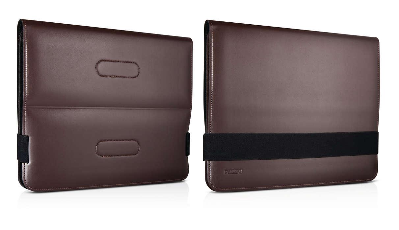 Protección elegante y visualización cómoda