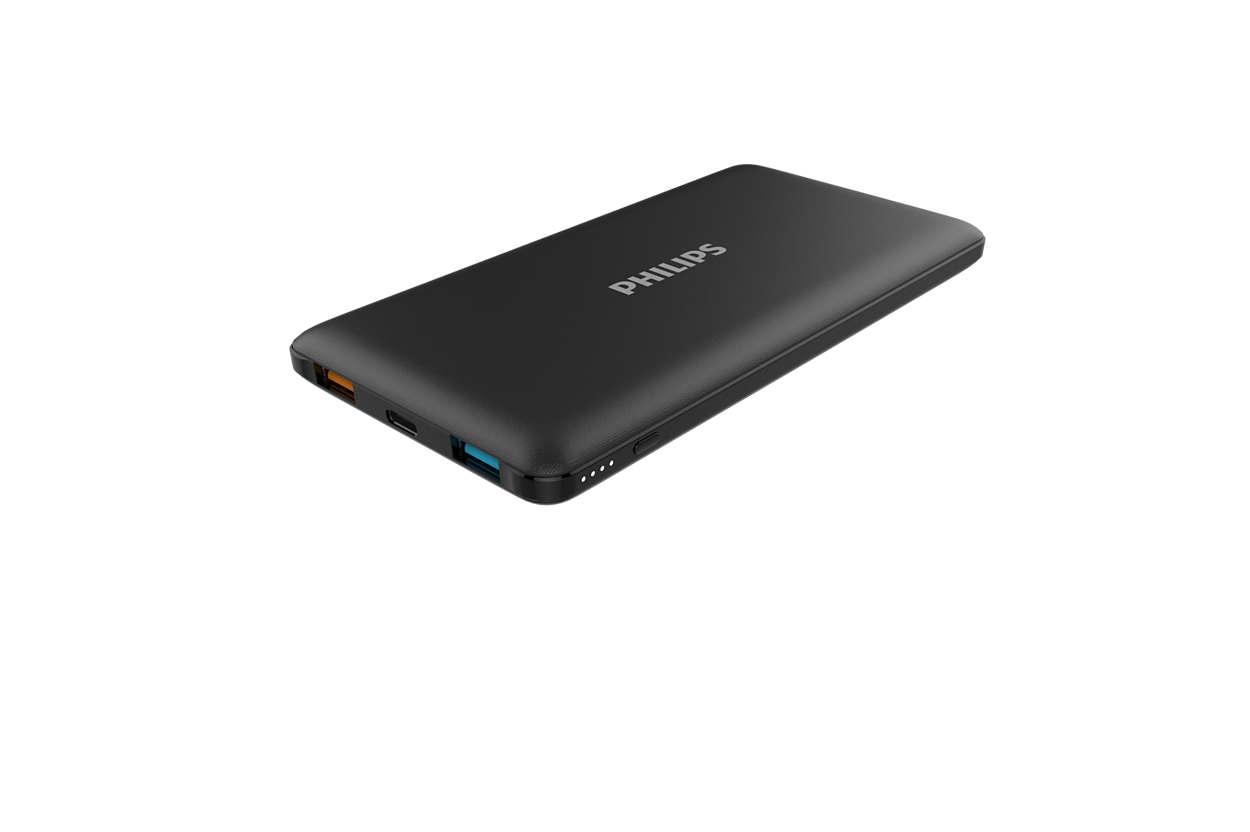 Chargeur portable mince et puissant