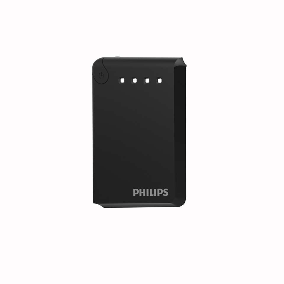 Dual USB battery pack