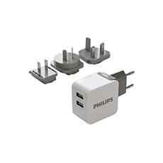 DLP2220/10 -    Potovalni polnilnik USB