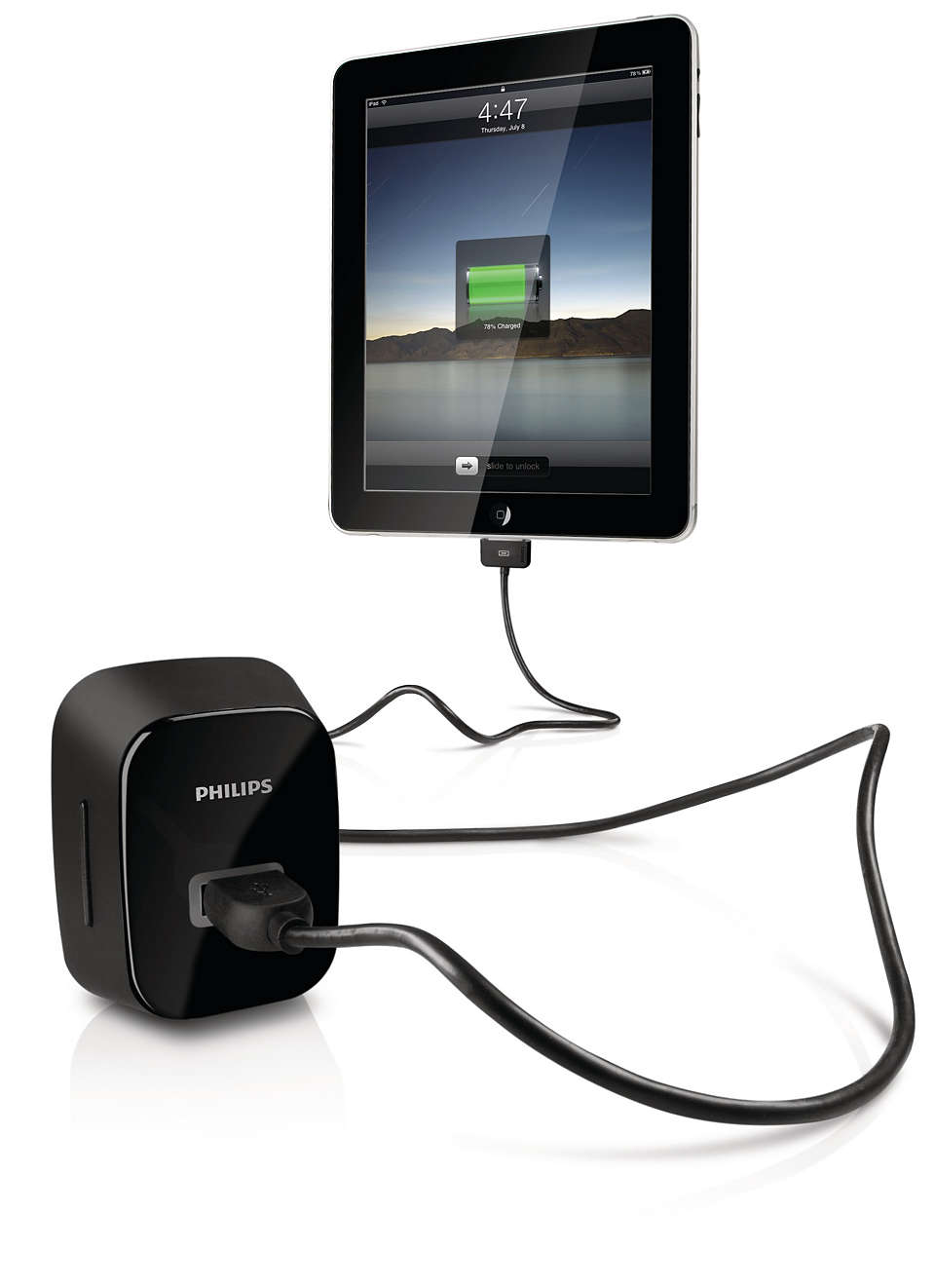 Charge your iPad, iPhone or iPod