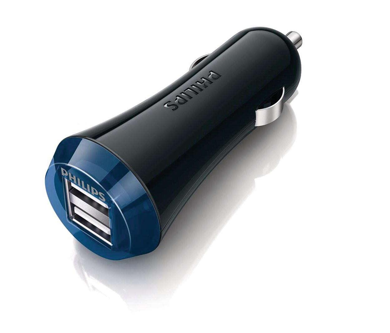 超快速車用充電器