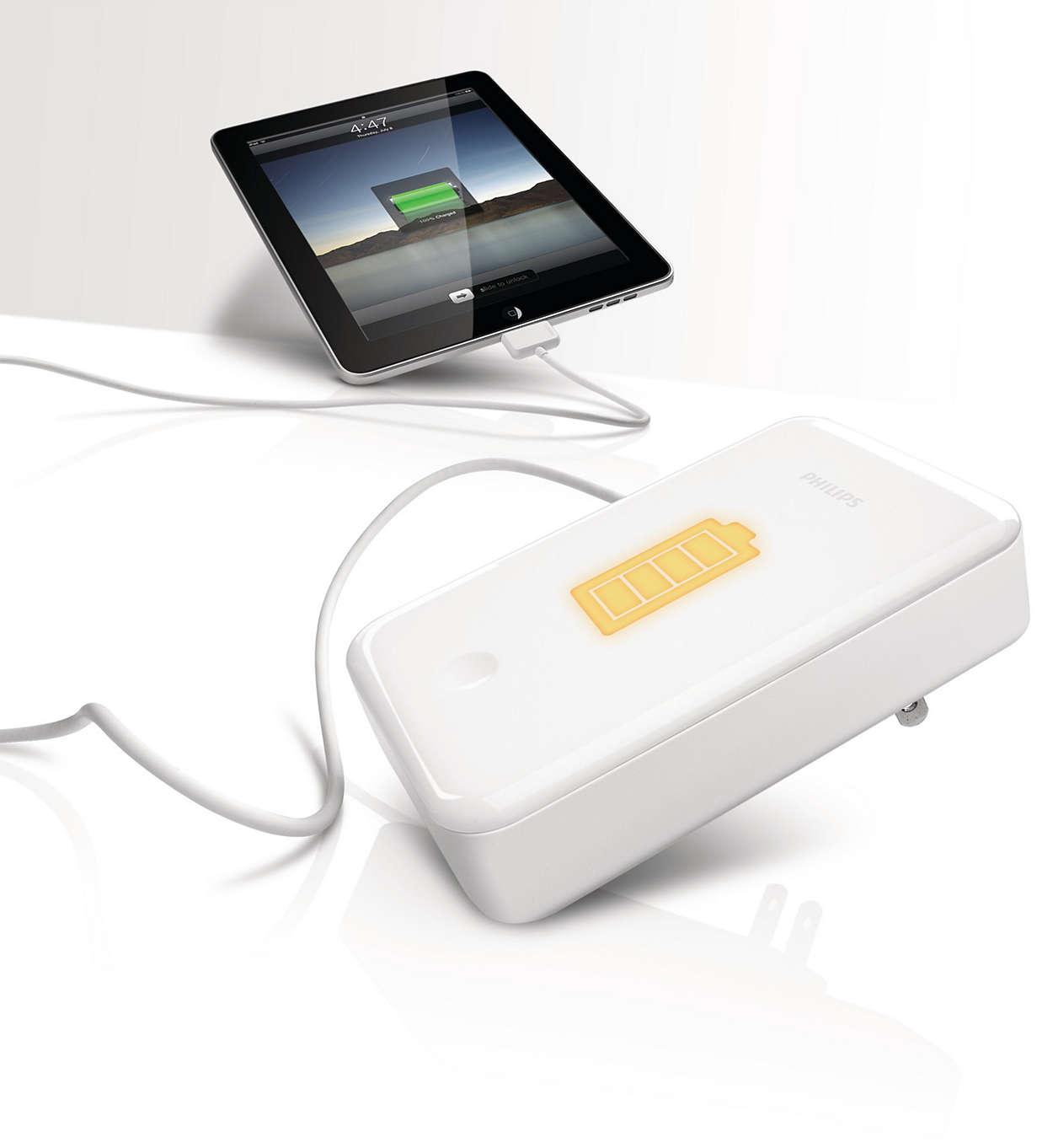 Универсальное зарядное устройство и резервный аккумулятор