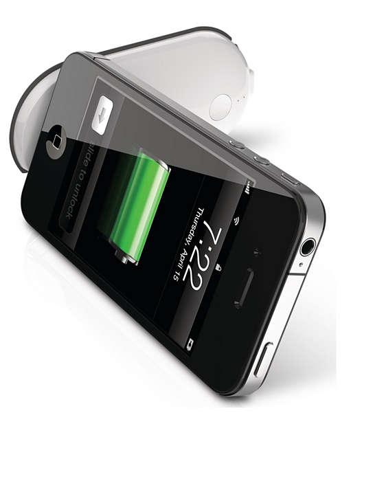 Ekstra batterikraft i lommestørrelse