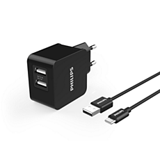 DLP2307A/12  Ładowarka siec. USB