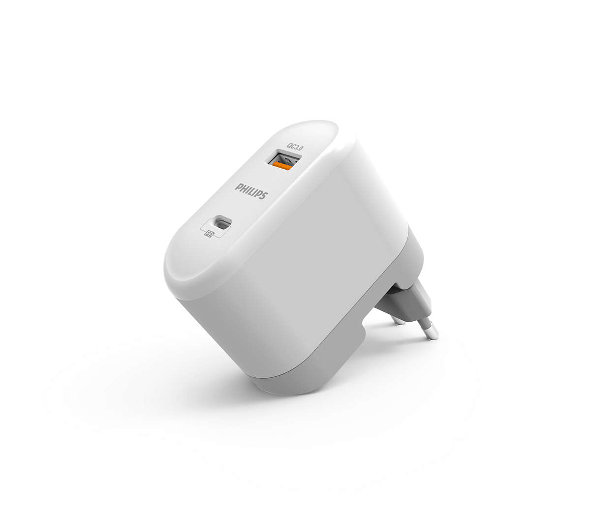 Ultra Fast wall charger PD + QC 3.0