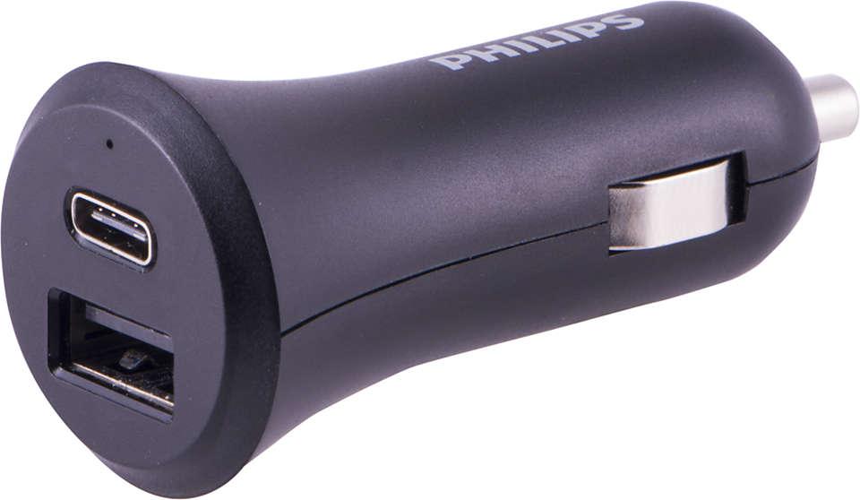Versatile In-Car USB Charging Solution