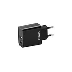 DLP2610/12 -    Podwójna ładowarka sieciowa USB