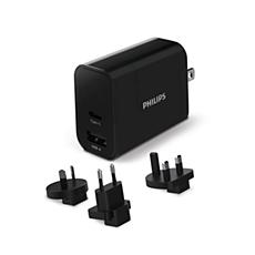 DLP2621T/00 -    Ładowarka podróżna USB