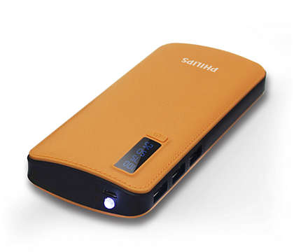 USB 포트가 3개인 강력한 보조 배터리