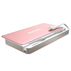 DLP6066RG/11  USB モバイルバッテリー