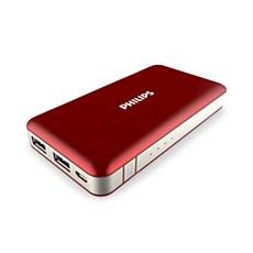 DLP6080WR/11  USB モバイルバッテリー