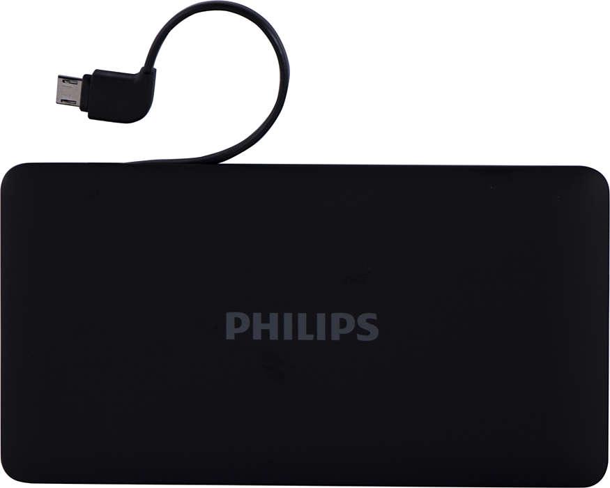 Single USB portable charging solution