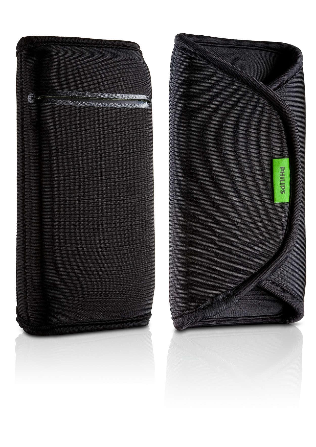 Protégez et transportez votre appareil portable
