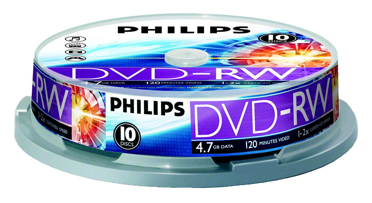 Uppfann CD- och DVD-tekniken