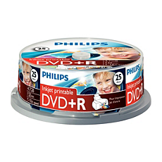 DR4I6B25F/00  DVD+R