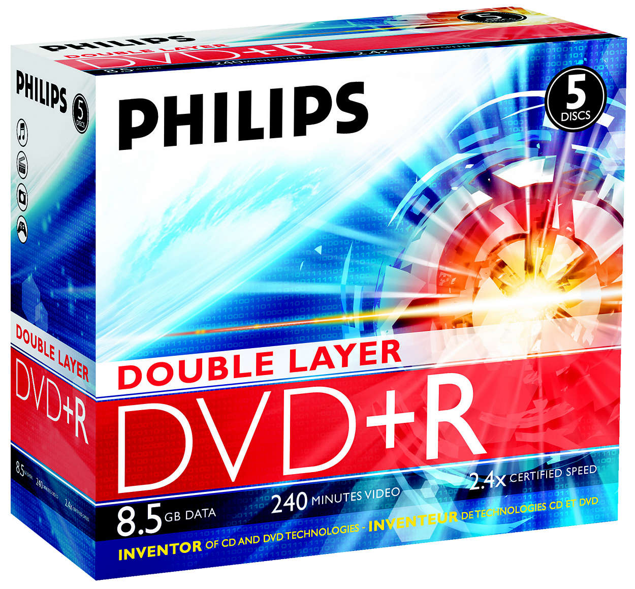 Innovator of CD and DVD technologies!