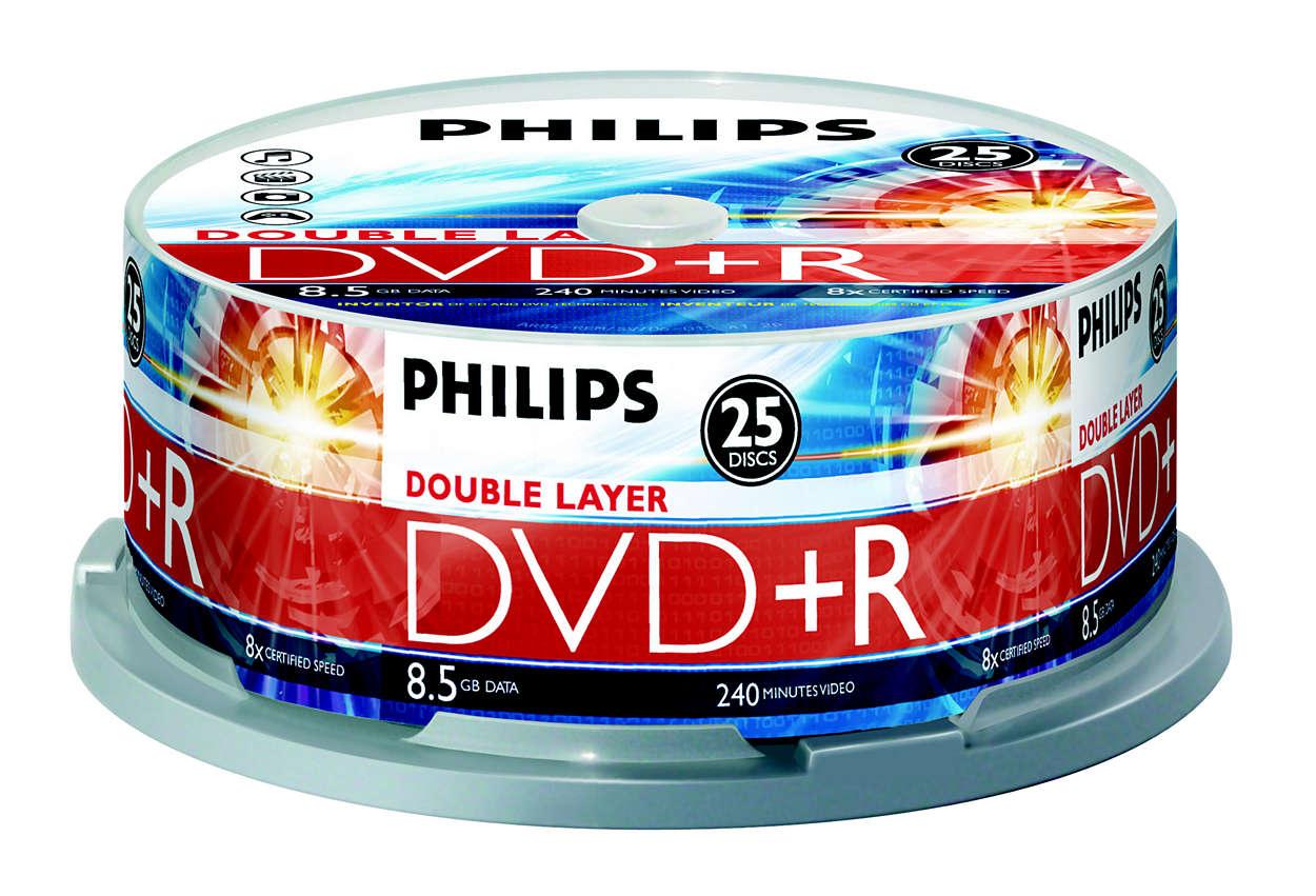Innovateur des technologiesCD et DVD