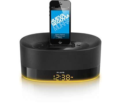Toista musiikkia iPodista/iPhonesta/iPadista