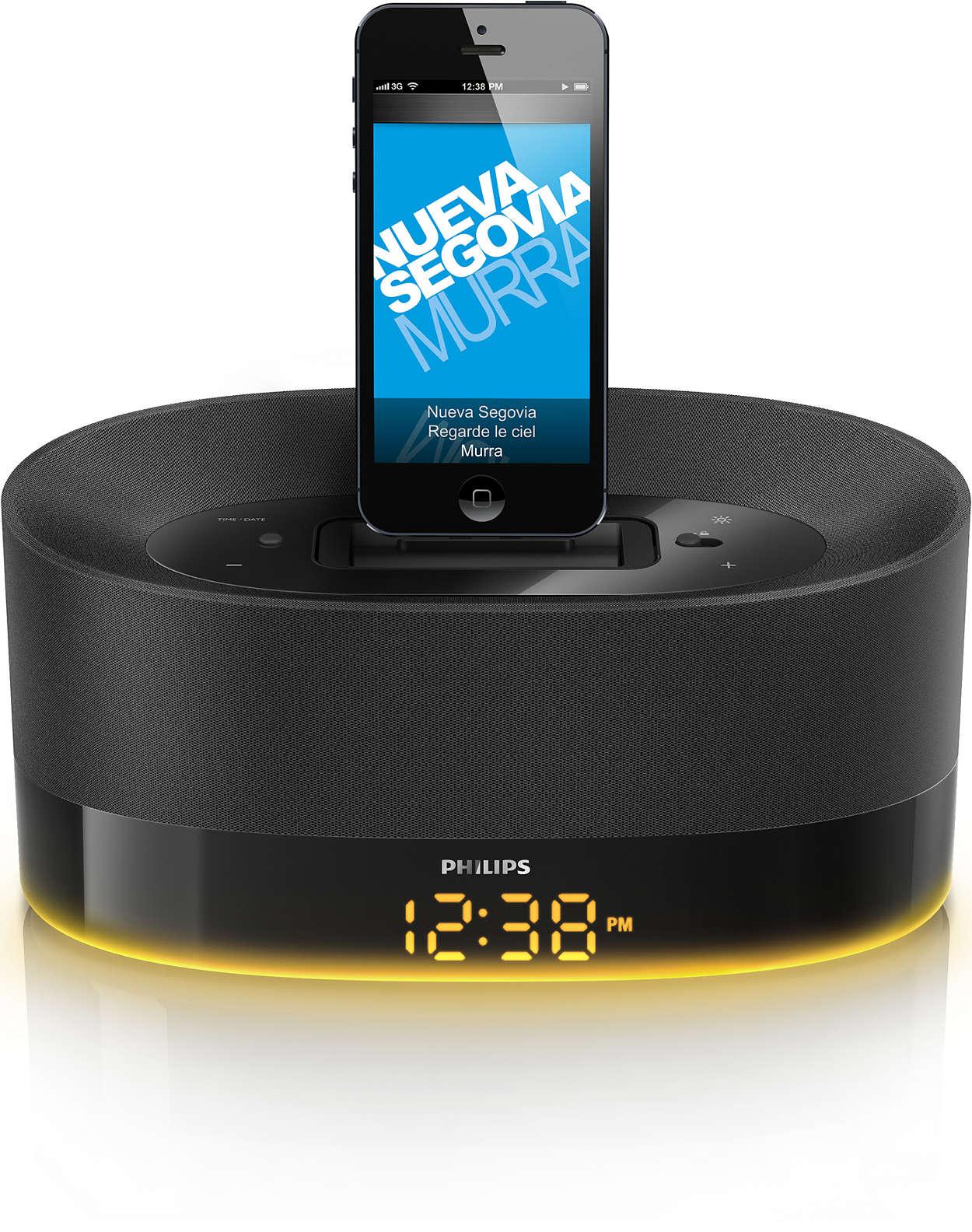 Az otthonába illő hangzás iPod/iPhone/iPad készülékekhez